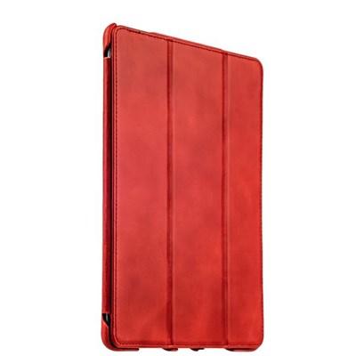 """Чехол кожаный i-Carer для iPad Pro (9.7"""") Vintage Series (RID704red) Красный - фото 5863"""