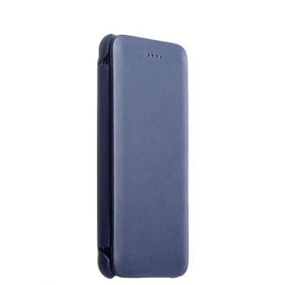 Чехол-книжка кожаный i-Carer для iPhone 8 Plus/ 7 Plus (5.5) luxury Series Side-open (RIP7003blue) Синий - фото 6699