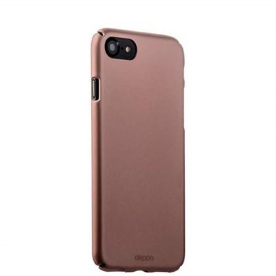 Чехол-накладка пластик Soft touch Deppa Air Case D-83271 для iPhone 8/ 7 (4.7) 1мм Розовое золото - фото 6155