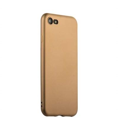 Чехол-накладка силиконовый J-case Delicate Series Matt 0.5mm для iPhone 8/ 7 (4.7) Золотистый - фото 5063
