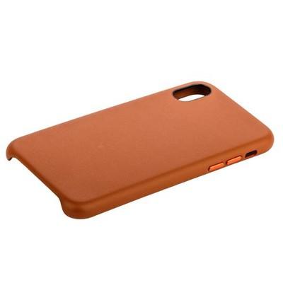 """Чехол-накладка кожанная COTEetCI Elegant PU Leather Case для iPhone X (5.8"""") CS8011-BR Коричневый - фото 12426"""