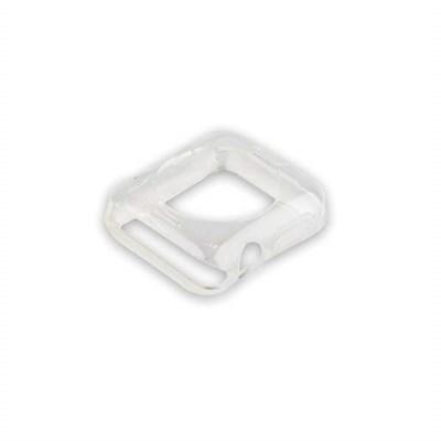Чехол силиконовый COTEetCI TPU case для Apple Watch Series 3/ 2 (CS7040-TT) 38мм Прозрачный - фото 12820