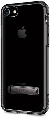 Чехол-накладка Spigen SGP для iPhone 7/8 Case Ultra Hybrid S 042CS20839, Jet Black - фото 15334