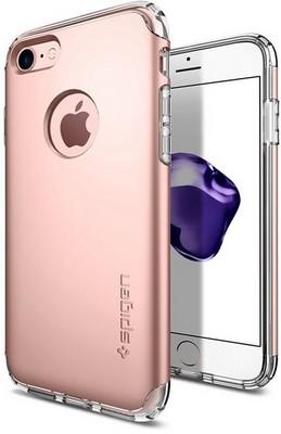 Чехол-накладка Spigen SGP для iPhone 7/8 Case Hybrid Armor 042CS20696, Rose Gold - фото 15341