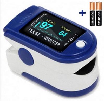 Пульсоксиметр (оксиметр) Fingertip Pulse Oximeter New OLED - фото 16013