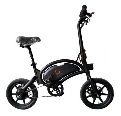 Электровелосипед KUGOO V1 черный - фото 16075