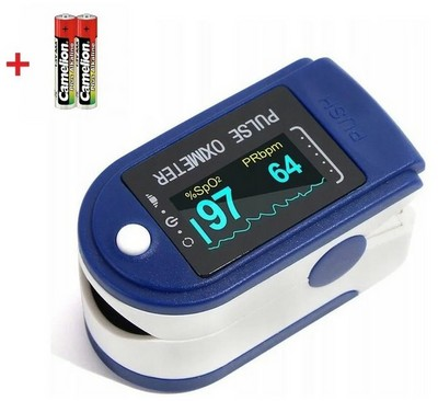 Пульсоксиметр (оксиметр) Fingertip Pulse Oximeter LED - фото 16126