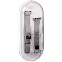 Ремешок - сетчатый браслет Миланский COTEetCI W2 (CS2062-SS) для Apple Watch 38мм Серебристый