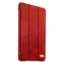 Чехол кожаный i-Carer для iPad mini 4 Vintage Series (RID797red) Красный