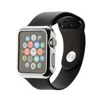 Чехол пластиковый COTEetCI Soft case для Apple Watch Series 3/ 2 (CS7031-TS) 42мм Серебристый