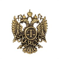 Знак-эмблема Суда элит, бронза (26х28х2,5) № 46