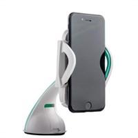 Автомобильный держатель COTEetCI ST-04 U для смартфонов (ST3104-WH) универсальный на шарнире с присоской (ширина 100mm) Белый