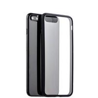 Чехол-накладка силикон Deppa Neo Case супертонкий D-85280 для iPhone 8 Plus/ 7 Plus (5.5) 0.3мм Черный борт