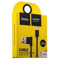 USB дата-кабель Hoco UPM10 L Shape MicroUSB Cable (1.2 м) Черный