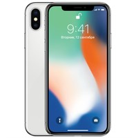 Смартфон Apple iPhone X 64GB Silver A1901/1865 Серебристый