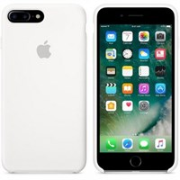 Чехол APPLE Silicone Case для iPhone 7 Plus, White (MMQT2ZM/A)