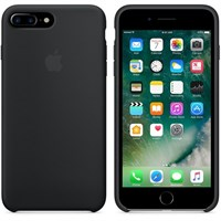 Чехол APPLE Silicone Case для iPhone 7 Plus, Black (MMQR2ZM/A)