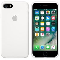Чехол APPLE Silicone Case для iPhone 7, White (MMWF2ZM/A)
