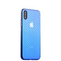 "Чехол-накладка пластиковый J-case Colorful Fashion Series 0.5mm для iPhone X (5.8"") Голубой оттенок"