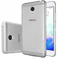 Чехол силиконовый Nillkin для Meizu Note 3 белый