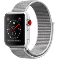 Часы Apple Watch Series 3 Cellular 38mm Aluminum Case with Sport Loop Seashell