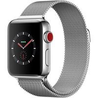 Часы Apple Watch Series 3 Cellular 38mm Stainless Steel Case with Milanese Loop Silver/Серый