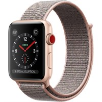 Часы Apple Watch Series 3 Cellular 42mm Aluminum Case with Sport Loop Pink Sand