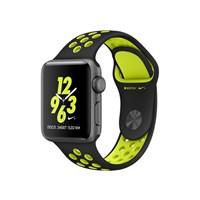 Часы Apple Watch Series 2 38mm with Nike Sport Band Black/Volt