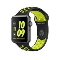 Часы Apple Watch Series 2 42mm with Nike Sport Band Black/Volt