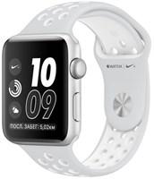 Часы Apple Watch Series 2 38mm with Nike Sport Band Pure Platinum White/Белый