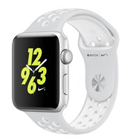 Часы Apple Watch Series 2 42mm with Nike Sport Band Pure Platinum/White