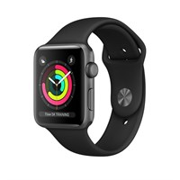Часы Apple Watch Series 3 38mm Aluminum Case with Sport Band Серый космос/Черный