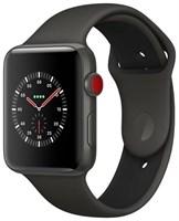 Часы Apple Watch Edition Series 3 42mm with Sport Band Black/Черные MQKE2