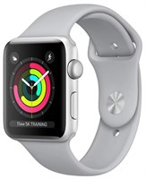 Часы Apple Watch Series 3 42mm Aluminum Case with Sport Band Fog Серебристый/Дымчатый