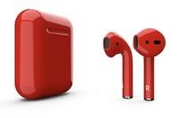 Беспроводные наушники Apple AirPods Color Red