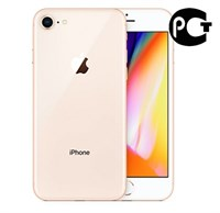 Смартфон Apple iPhone 8 64GB Gold MQ6J2RU/A Золотой