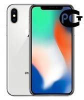 Смартфон Apple iPhone X 64GB Silver A1901 MQAD2RU/A Серебристый