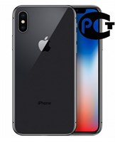 Смартфон Apple iPhone X 256GB Space Grey A1901 MQAF2RU/A Серый космос