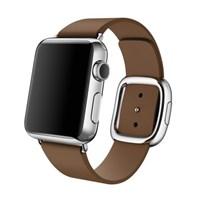 Ремешок для часов Apple Watch, 38mm Brown Modern Buckle - Medium MJ552 коричневый
