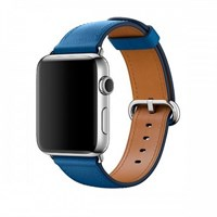 Ремешок для часов Apple Watch, 42mm Sea Blue Classic Buckle MNKW2 Синее море
