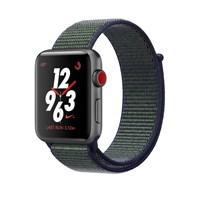 Часы Apple Watch Series 3 Cellular 38mm Aluminum Case with Sport Loop Midnight Fog