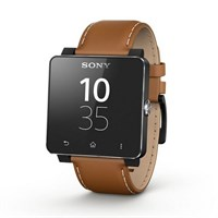 Умные часы Sony Smart Watch 2 Leather Brown