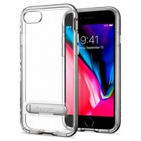 Чехол-накладка Spigen SGP iPhone 7/8 Case Crystal Hybrid, Gunmetal