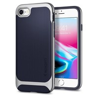 Чехол-накладка Spigen SGP для iPhone 7/8 Case Neo Hybrid Herringbone , Satin Silver