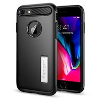 Чехол-накладка Spigen SGP для iPhone 7/8 Case Slim Armor, Black