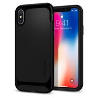 Чехол-накладка Spigen SGP для iPhone X Case Neo Hybrid, Jet Black