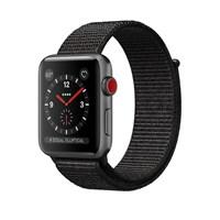 Часы Apple Watch Series 3 Cellular 42mm Aluminum Case with Black Sport Loop Серый космос/Черный