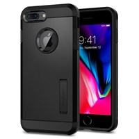 Чехол-накладка Spigen SGP для iPhone 7 plus/8 plus Case Tough Armor 2, Black