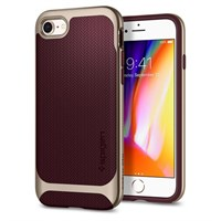 Чехол-накладка Spigen SGP для iPhone 7/8 Case Neo Hybrid Herringbone , Burgundy