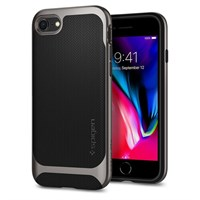 Чехол-накладка Spigen SGP для iPhone 7/8 Case Neo Hybrid Herringbone , Gunmetal